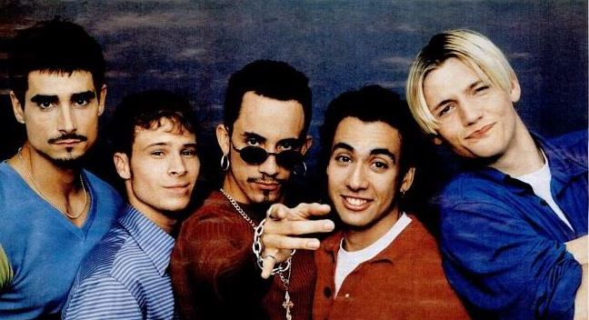 BACKSTREET BOYS.I want itT that way K.mid